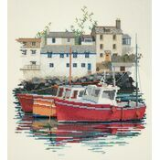 Fishing Village Cross Stitch Kit