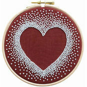 Heart Beadwork Embroidery Kit