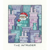 Santa Claus \'The Intruder\' Cross Stitch Kit