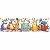 Cat Show Cross Stitch Kit