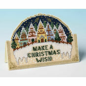 Christmas Wish 3D Cross Stitch Card Kit