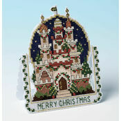 Christmas Dreams 3D Cross Stitch Card Kit