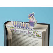 Mrs Bookworm 3D Cross Stitch Kit