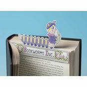Mrs Bookworm 3D Cross Stitch Kit