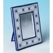 Lapis Lazuli Frame 3D Cross Stitch Kit