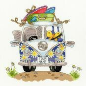 Pack Your Trunk Elly Cross Stitch Kit