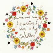 Love Sunshine Cross Stitch Kit