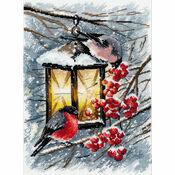 A Christmas Light Cross Stitch Kit