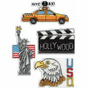 USA Magnets Cross Stitch Kit