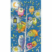 Tree Of Owls Cross Stitch Kit