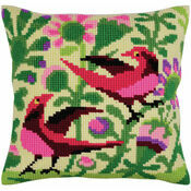 Birds Of Paradise 2 Cross Stitch Cushion Panel Kit