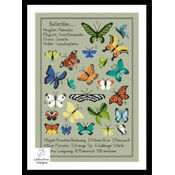 Kaleidoscope Of Butterflies Cross Stitch Kit