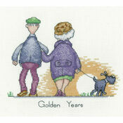 Golden Years Cross Stitch Kit