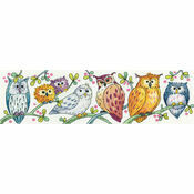 Owls On Parade Cross Stitch Kit