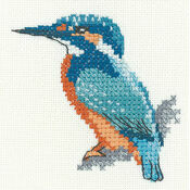 Little Friends - Kingfisher Cross Stitch Kit