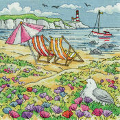 Summer Shore Cross Stitch Kit