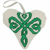 Celtic Lavender Heart Tapestry Kit