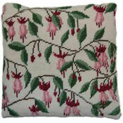 Fuschia Herb Pillow Tapestry Kit