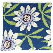 Passion Flower Herb Pillow Tapestry Kit