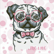 Hug A Pug Diamond Dotz Kit