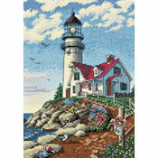 Beacon At Rocky Point Cross Stitch Kit