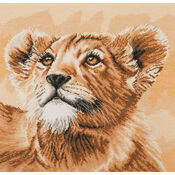 Little Princess Lion Cub Cross Stitch Kit
