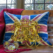Union Jack Cushion Panel Needlepoint Kit