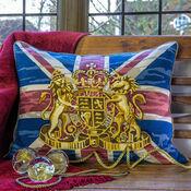Union Jack Cushion Panel Needlepoint Kit