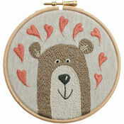 Bear Hoop Embroidery Kit