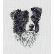 Anchor Border Collie Cross Stitch Kit