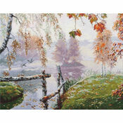 Breath Of Autumn Cross Stitch Kit