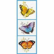 Butterfly Bonanza Cross Stitch Kit (Set of 3)