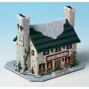Holly Bush Inn 3D Cross Stitch Kit