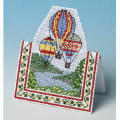Summer Flight 3D Cross Stitch Card Kit