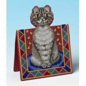 Peeping Tom 3D Cross Stitch Card Kit