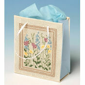 Meadowsweet Gift Bag 3D Cross Stitch Kit