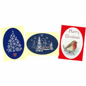 Snow Cross Stitch Card Kits (Derwentwater Designs Set 2)