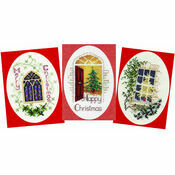 Welcome Cross Stitch Card Kits (Derwentwater Designs Set 3)