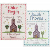 Christening By Nia Cross Stitch Kit