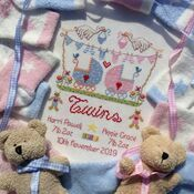 Twins Cross Stitch Kit