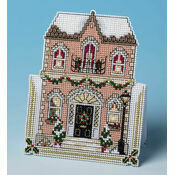 In Town For Christmas 3D Cross Stitch Card Kit
