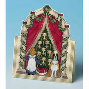 Just Looking 3D Cross Stitch Christmas Card Kit
