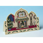 Ready For Christmas 3D Cross Stitch Card Kit