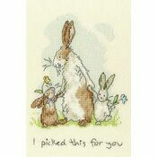 I Picked This For You Cross Stitch Kit