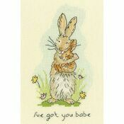 I\'ve Got You Babe Cross Stitch Kit