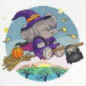 Hallow Elly Cross Stitch Kit