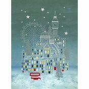 Snowy London Cross Stitch Kit