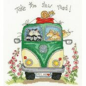 Take The Slow Road Cross Stitch Kit