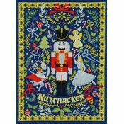 The Christmas Nutcracker Cross Stitch Kit