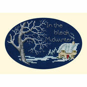 Midwinter Cross Stitch Christmas Card Kit